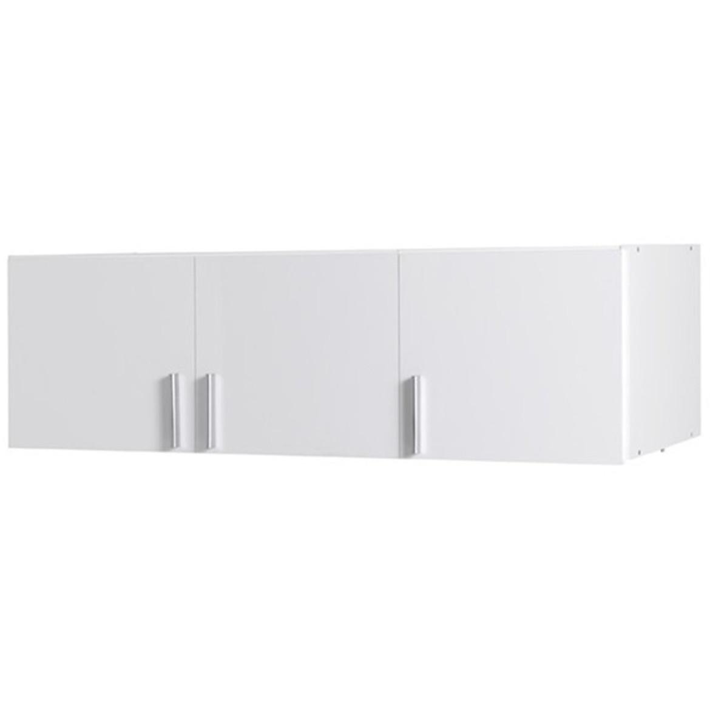 Nadstawka szafy Snow 04A 136 cm biały połysk/biały alpejski