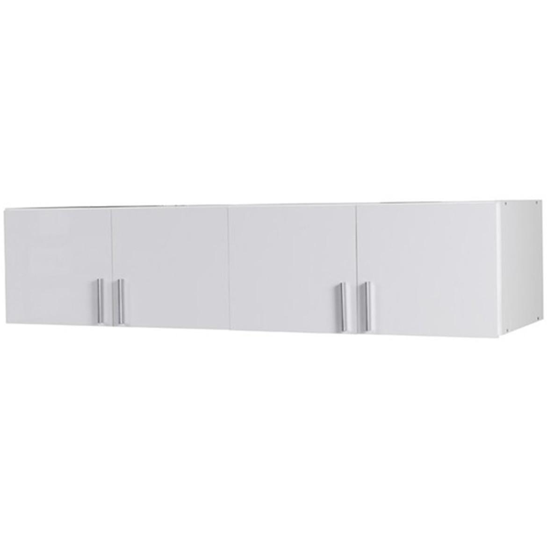 Nadstawka szafy Snow 05A 181 cm biały połysk/biały alpejski