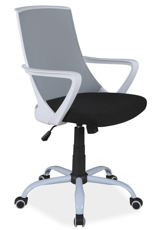 Fotel obrotowy Olaf (szaro-czarny)
