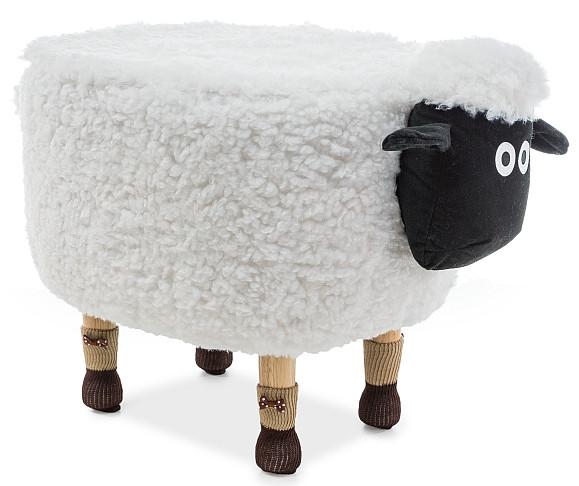 Pufa Owieczka Basia I (biały)
