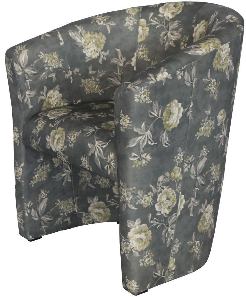 Fotel Piccolo (w kwiaty)