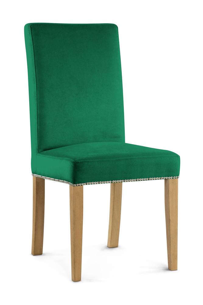 Krzesło Poul 2 (zieleń butelkowa)