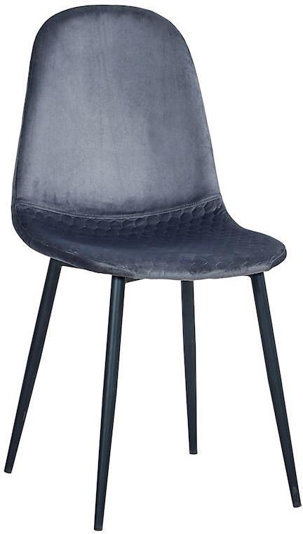 Krzesło Cotto plaster miodu (ciemny szary)