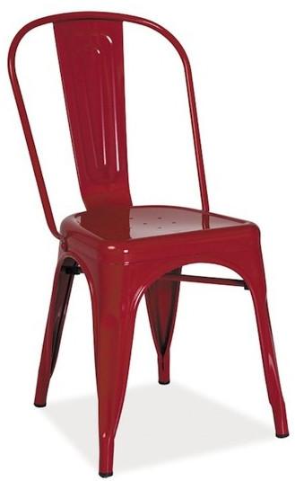 Krzesło Spider (czerwony)