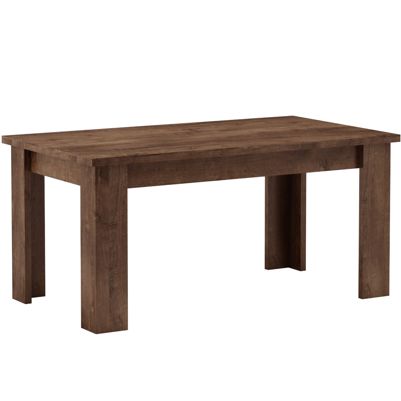 Stół mały 120x80+40 Sys Tadeusz  dąb lefkas