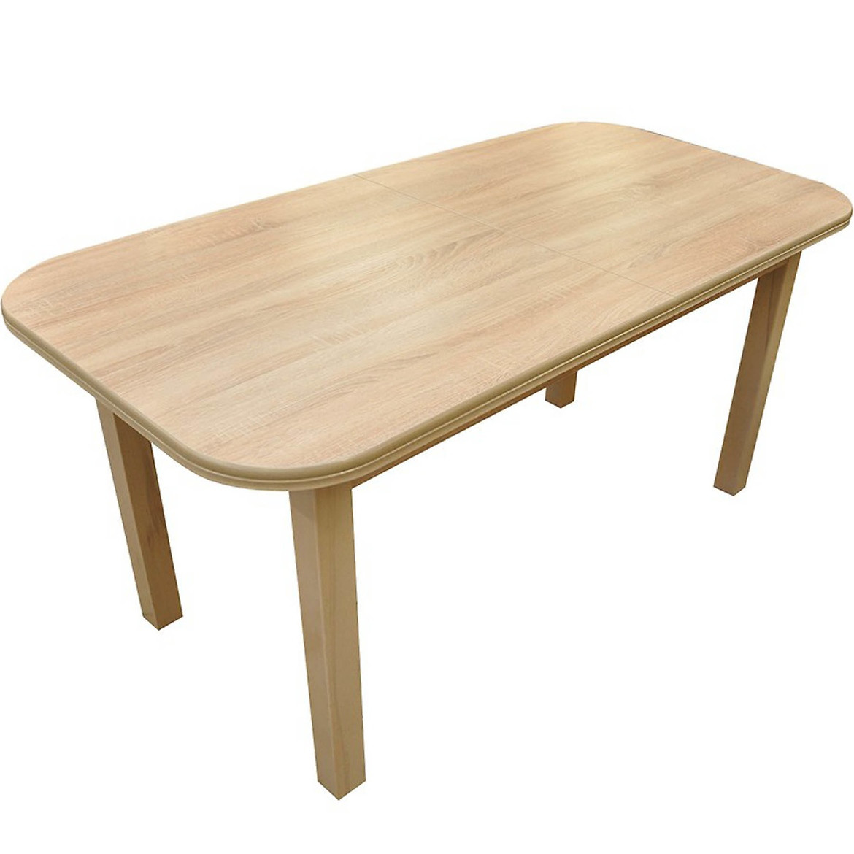 Stół ST11 160X80+40 dąb sonoma G