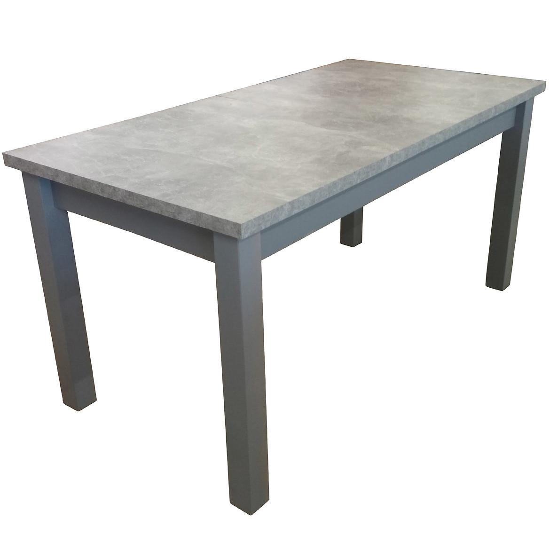 Stół ST28 160X80+40 beton