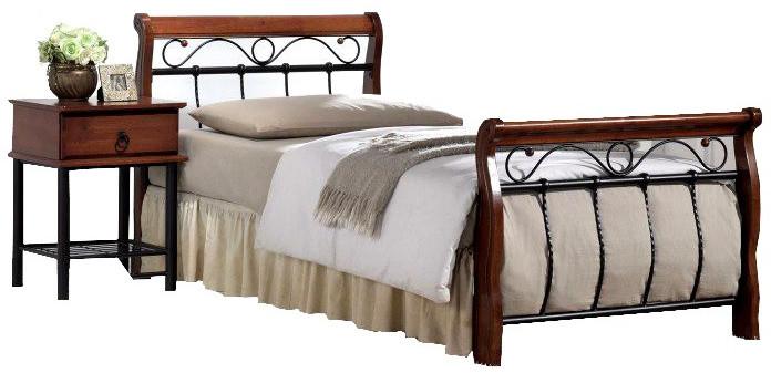 Łóżko Suzanne (90x200)