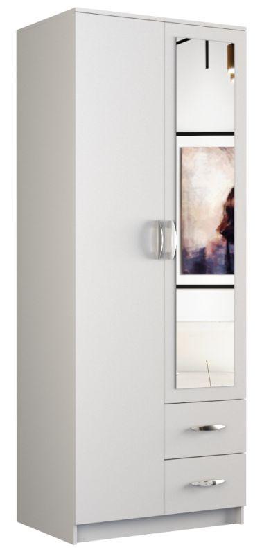 Szafa Graviola 80 (biały) z lustrem