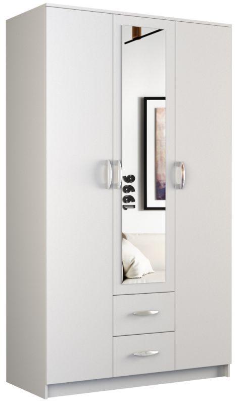 Szafa Graviola 120 (biały) z lustrem
