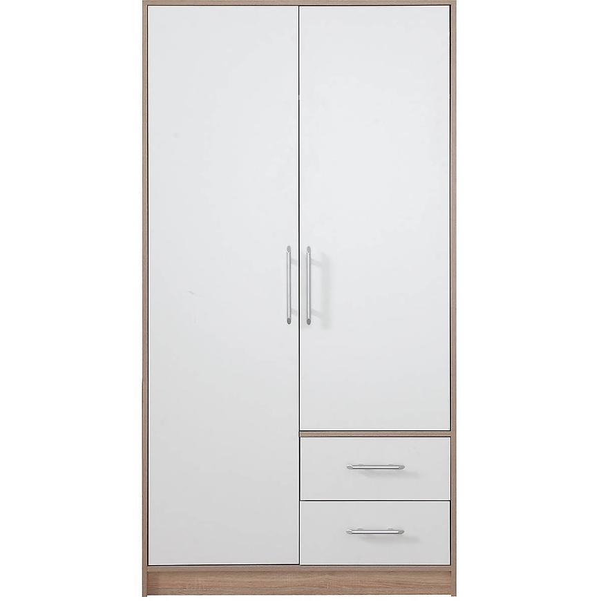 Szafa Smart SR3 100 cm dąb sonoma/biały