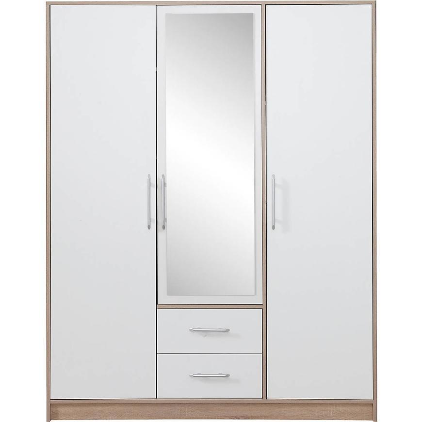 Szafa Smart SRl2 150 cm dąb sonoma/biały