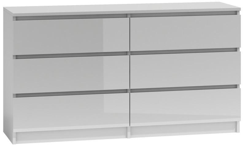 Komoda Umo P6 140 (biały połysk)