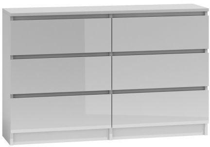 Komoda Umo P6 120 (biały połysk)