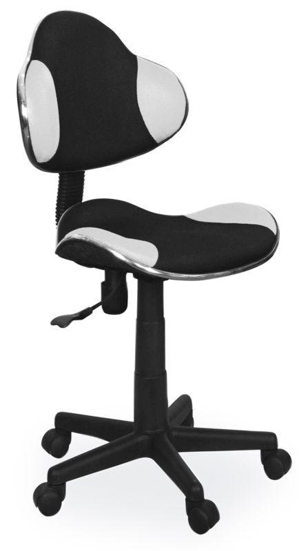 Fotel obrotowy Varius (czarno-biały)