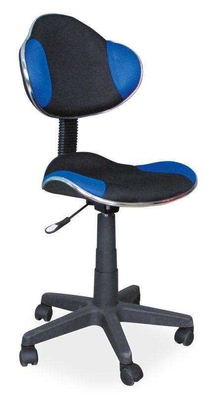 Fotel obrotowy Varius (niebiesko-czarny)