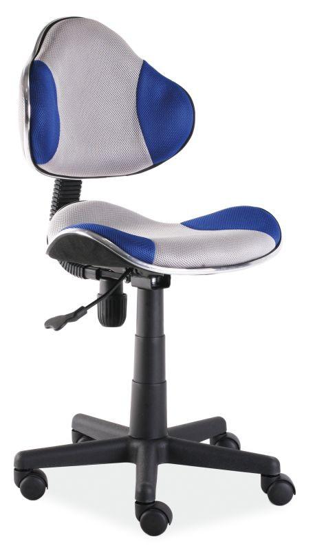 Fotel obrotowy Varius (niebiesko-szary)