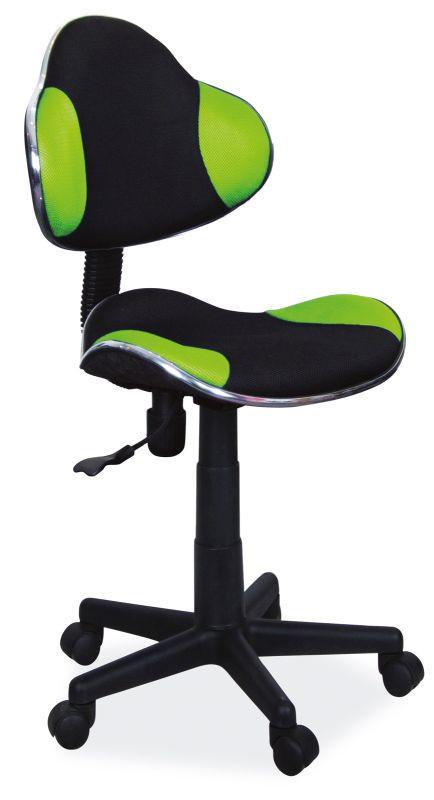 Fotel obrotowy Varius (zielono-czarny)