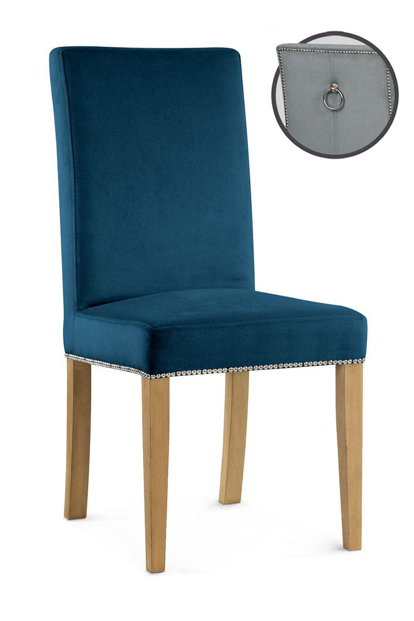 Krzesło Poul 3 (granatowy)