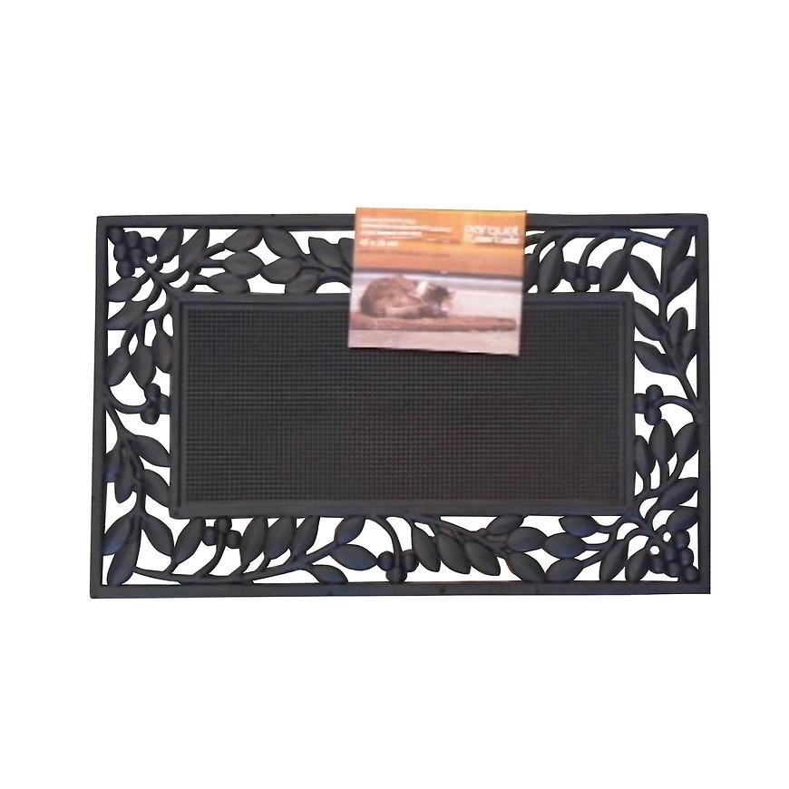Wycieraczka Leaves boarder stud mats 45x75