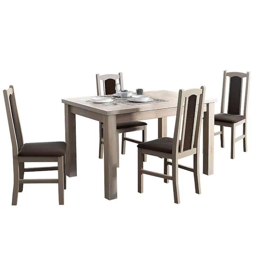Zestaw stół i krzesła 1+4 boss 7 sonoma 6