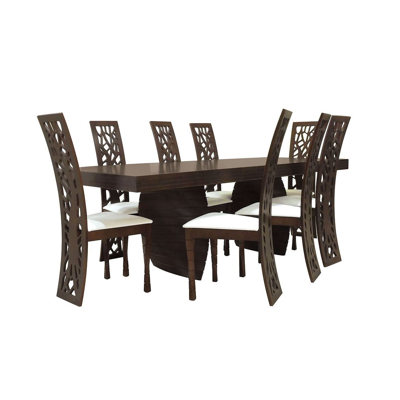 Zestaw stół i krzesła Mati 1+8 ST604III KR603 BR2432 alicante7