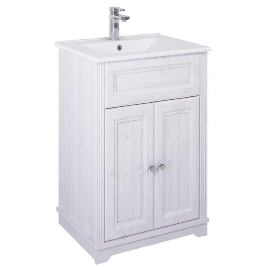 Zestaw szafka z umywalką Retro 60 2D