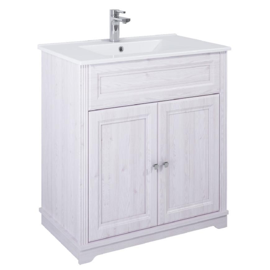 Zestaw szafka z umywalką Retro 80 2D