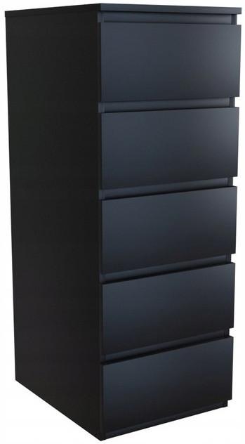Komoda Zoya P5 (czarny)