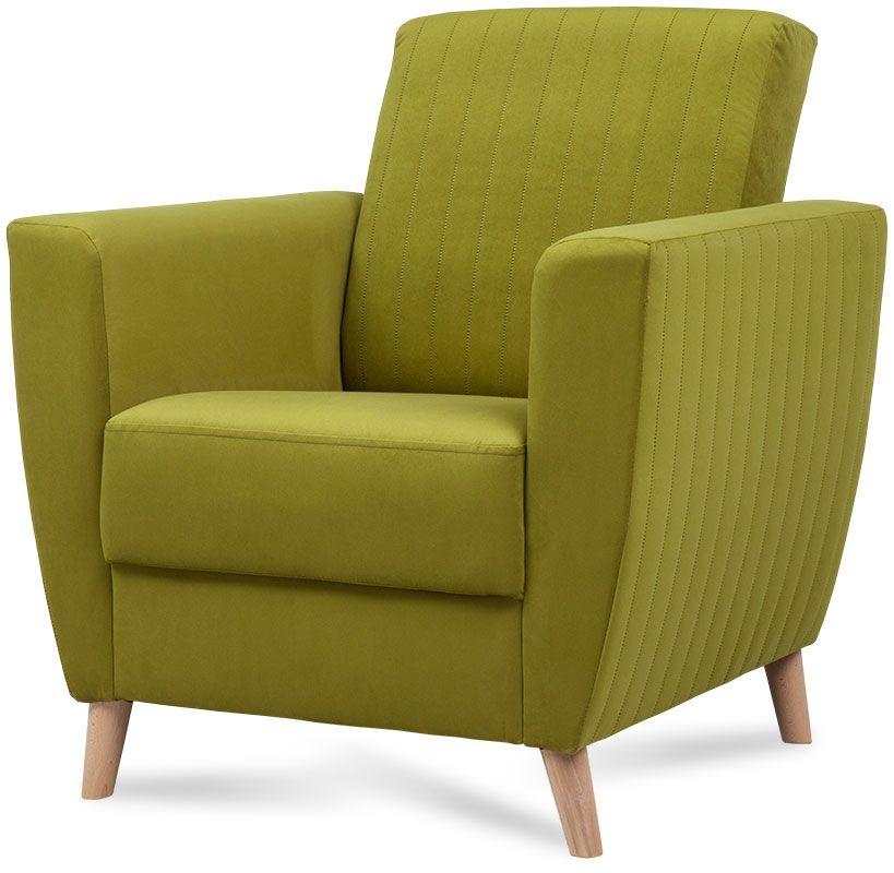 fotel bruna zielony 1