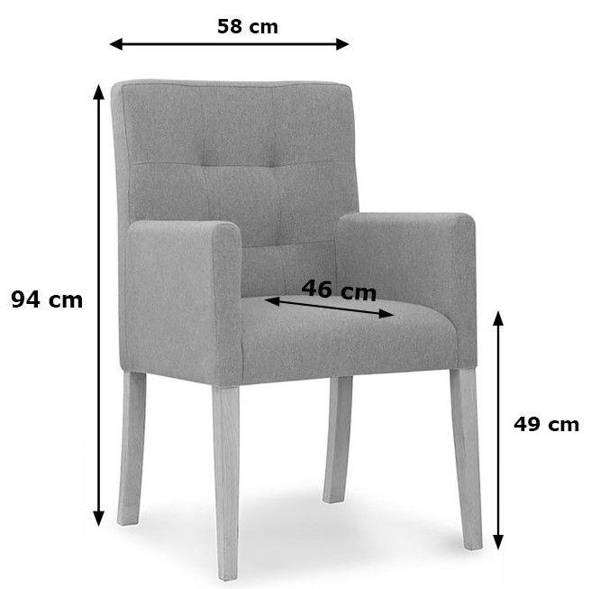 fotel loras wymiary 1
