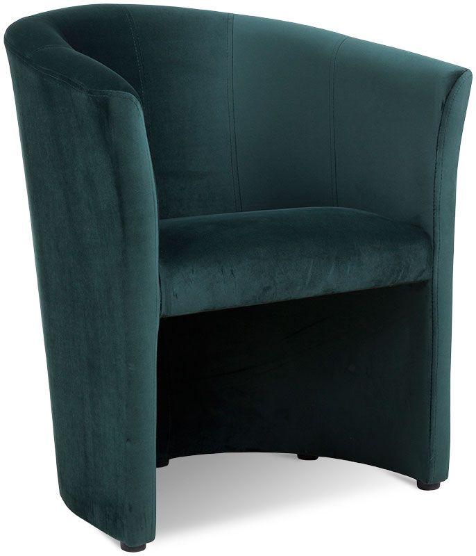 fotel pur zielony 1