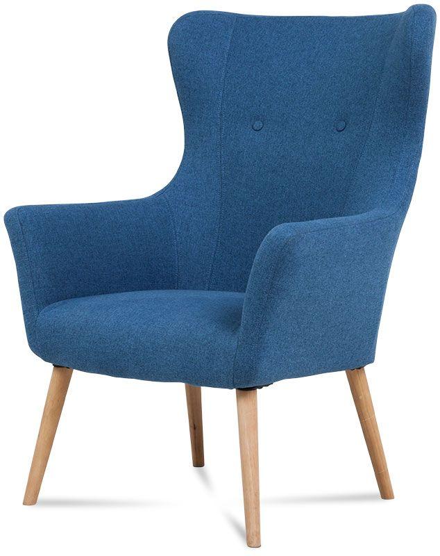 fotel trend niebieski 1
