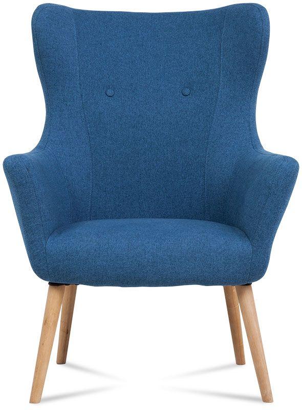 fotel trend niebieski 2