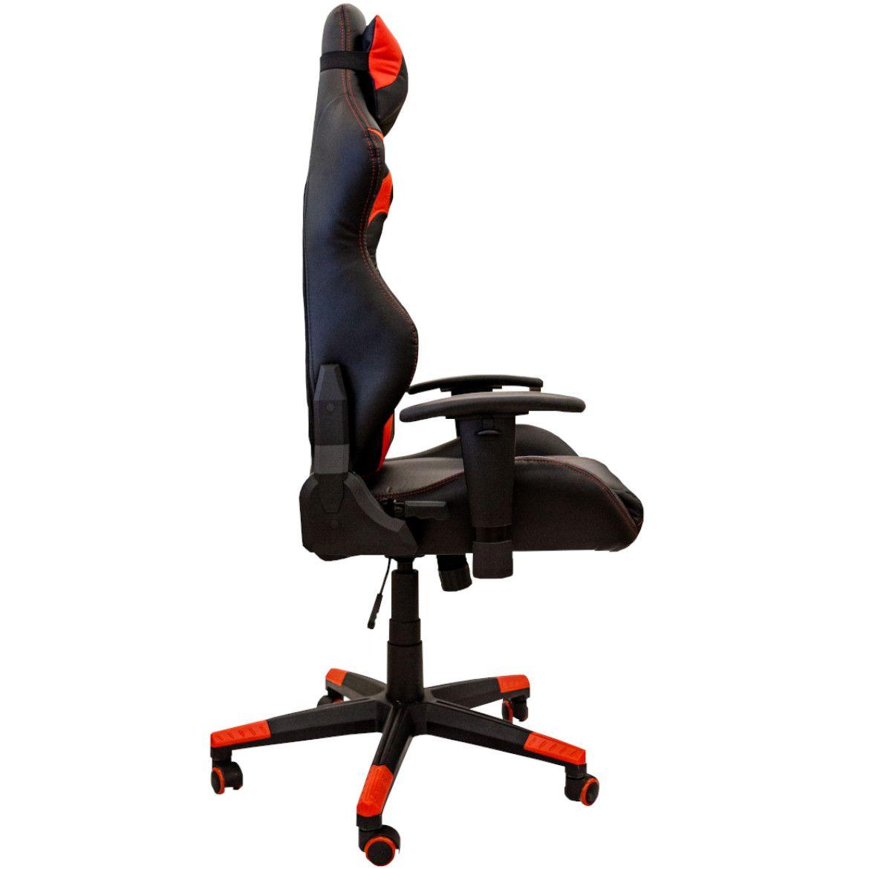 fotel cx1055h czerwonoczarne 5