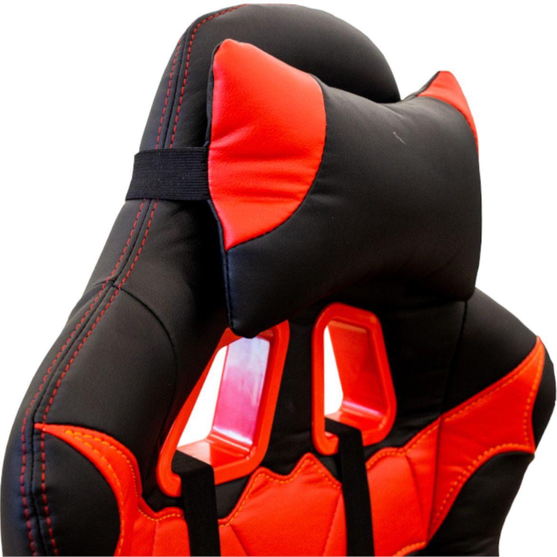 fotel cx1055h czerwonoczarne 7