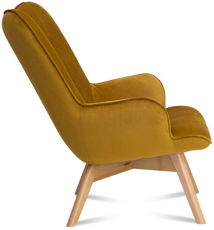 fotel sara musztarda 3