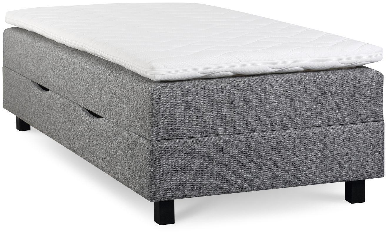 łóżko Gotland 90x200 Pojemnik Szary