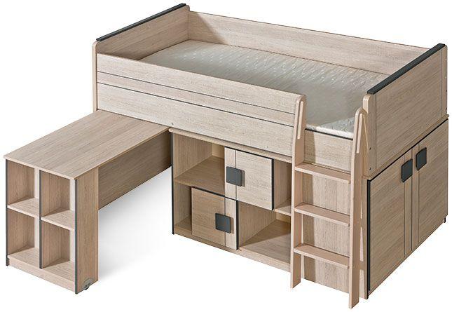 Łóżko z biurkiem Gumi G19 (G15+G17)