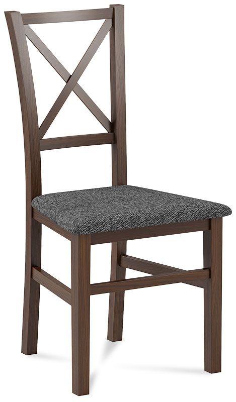 krzeslo alvo orzech szary
