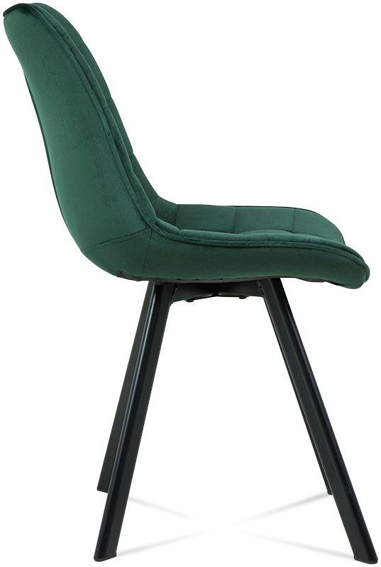 krzeslo enzo ciemny zielony 2