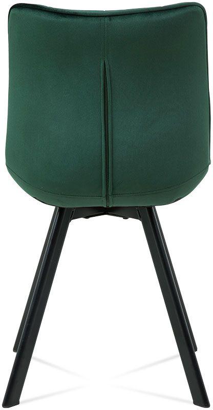 krzeslo enzo ciemny zielony 3