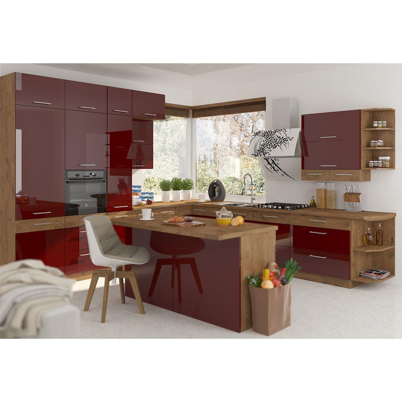 kuchnia vigo bordo hg 260 z blatem 4