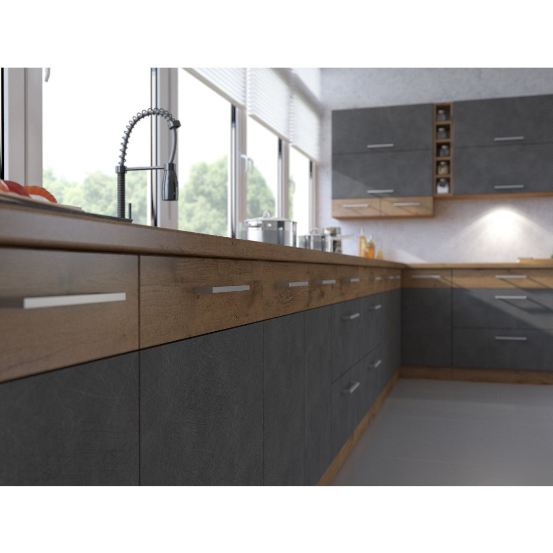 kuchnia vigo grafit mat 260 z blatem