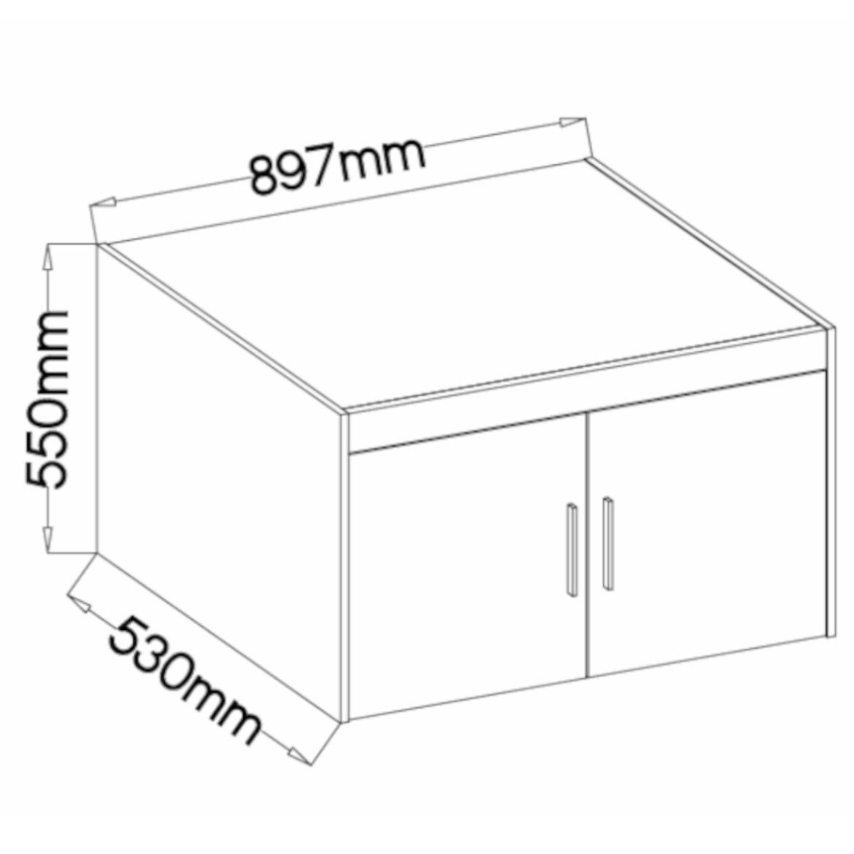 nadstawka do szafy elena 89 7 cm biala 2
