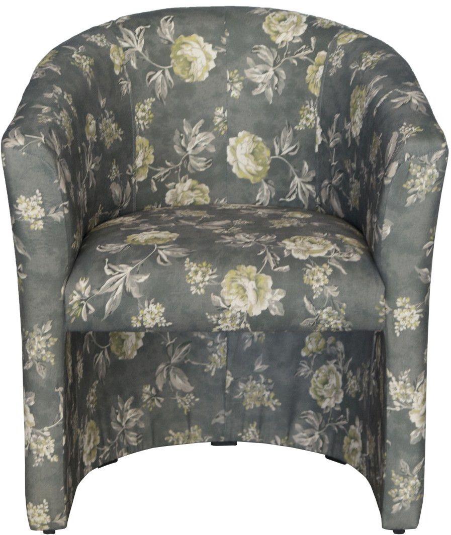 piccolo fotel tkanina kwiat p