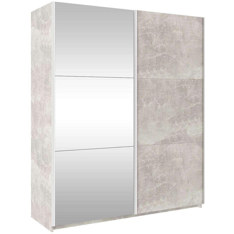 szafa trend 170 cm beton jasnylustro 3