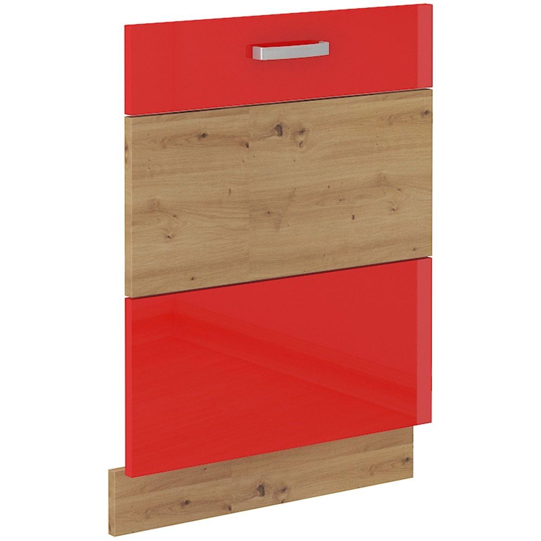 szafka kuchenna artisan czerwony polysk front zm 713x596 2