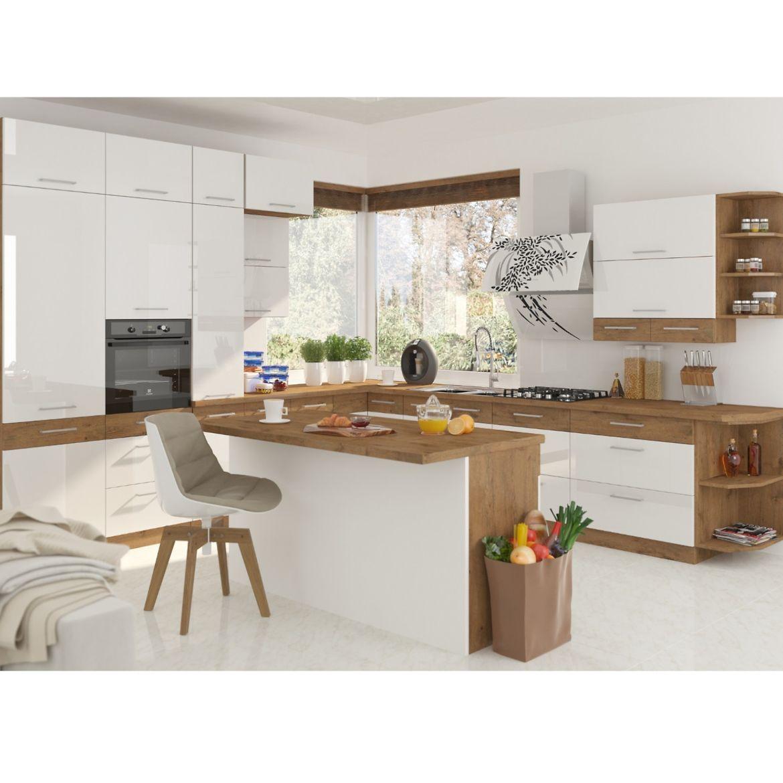 szafka kuchenna vigo bialy hg 60dp 210 2f 4