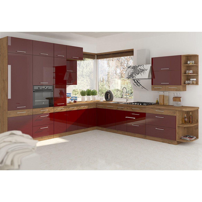 szafka kuchenna vigo bordo hg 60dp 210 2f 2
